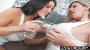 Sara Jay and Jayden James Big Wet Tits