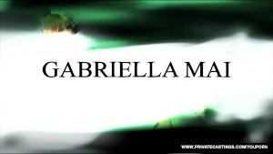 Gabriella Mai squirts in Private s casting