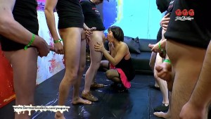 German Goo Girls - Mature babe Nathalie loves sperm