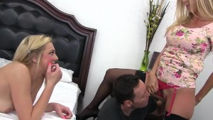 MILF Alexis Fawx catches Teen slut Tiffany Watson and BF fucking
