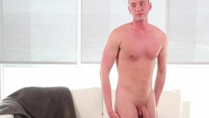 GayCastings - Perv Casting Agent Fucked Grayson Frost