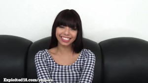 Gina Valentina On Casting Couch!