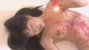 Asian babe go wild with the bdsm ass spanking