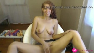 18flirt.com - Amazing beautiful red babe Stacy with magic smile