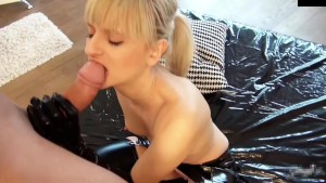 naughty-hotties.net - blonde hottie latex outfit stepdad surprise.mp4