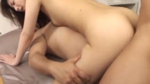 Kaori Amai gets jizz to cream her ass after a wild fuck