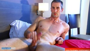 Full video: A innocent str8 neighbour gets serviced his big cock by a guy!