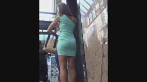 Sexy banker stalked after work