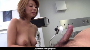 Astonishing Asian slut rides t