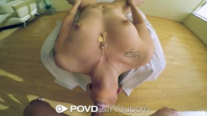 POVD - Rachael Madori has her pussy fucked and fingered in POV