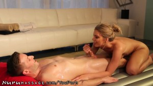 The Nuru Massage Chick does Anal!