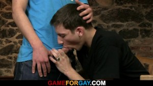 His first blowjob and cock riding