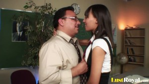 Professor gets seduced and pleasured by Nadia Aria