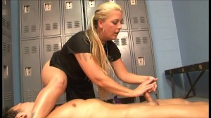 Hand Job In The Locker Room - Ultima