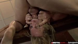 BrutalClips - Rough Throat and Anal Fucking