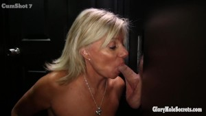 Gloryhole Secrets Mature blonde shows off her years of skill