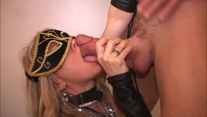 Old guy sucks young Latina-She cums w vibe-Cock gags cougar-MILF wets self