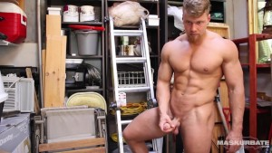 Maskurbate Brad In The Shed