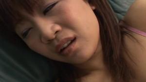 Dudes spy on the Asian slut who masturbates passionately