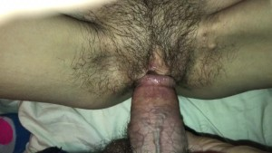 quickie creampie with skinny tattooed wife