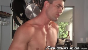FalconStudios Sexy Jock Cums with Cock in Ass!