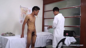 Asian Twink Medical Fetish Anal Probing