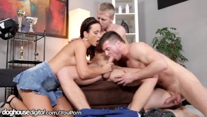 DogHouseDigital Bi-Curious Guy Gets Anal