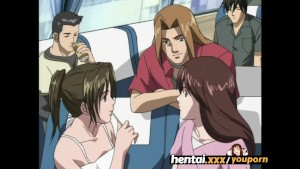Cute tour guide learns about gangbang - Hentai.xxx