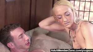 AdultMemberZone - Would-be pornstar shows she has everything it takes