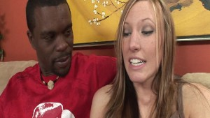Sweet Emily gets pounded by some massive black cock!