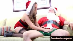 Fake Santa Gets His Cock Sucke