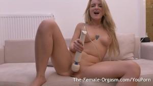 Big Natural Breasts Hitachi Masturbation to Orgasm