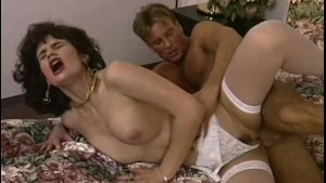 brunette housewife in sweet lingerie bedroom nailed – Free Porn Video