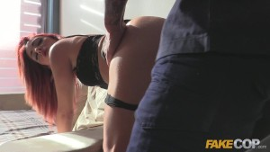 fake cop cute trespasser rides policemans penis – Free Porn Video