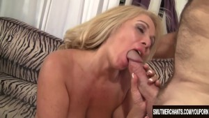 Sexy Blond Granny fucked good