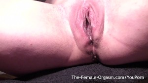 Dripping Wet Pussy Selfie Bating to Multiple Pulsating Orgasms