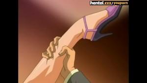 Busty MILF s unexpected double penetration - Hentai.xxx ENG SUB