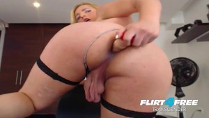Naughty Tgirl Ass Fucking & Cum Eating