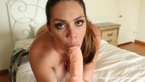 Alison Tyler teases and mastur