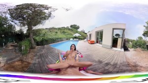 HoliVR 360VR _ Caught and Fucked by Neighbor MILF