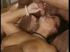 Milf milking cock like a cow.Blowjob with cumshot