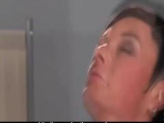Movie:Brunette doing Gynecolog!