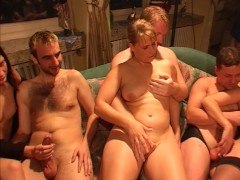 All ages welcome at the gang bang part 3 (clip)