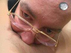 Mature pussy played with by perv guy