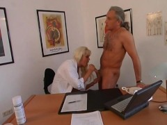 Horny doctor wants to fuck in her office