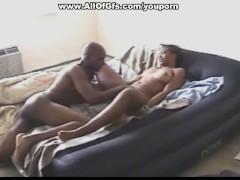 Ebony gf has dirty sex with her man