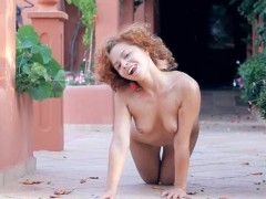 Exotic coed stripping and dancing