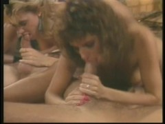 Ginger Lynn in a retro group session! - Porn Star Legends