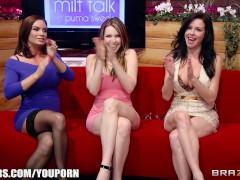 MILF TALK - NEXT Brazzers LIVE show Feb 20th 3:45 EST 12:45 PST