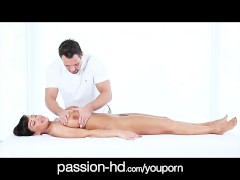 PUREMATURE Lisa Ann office massage bang